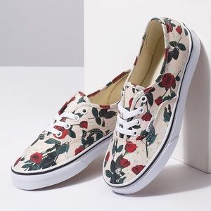 Vans Authentic Roses Sneaker🌹Sold Out Style!!